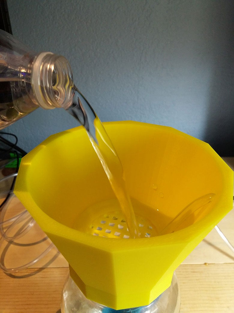 Prepare Lid and Jar
