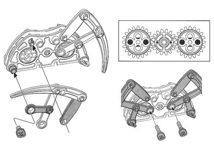 RoboSpider - Mechanical Assembly