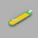 Conan's Rocket Skateboard