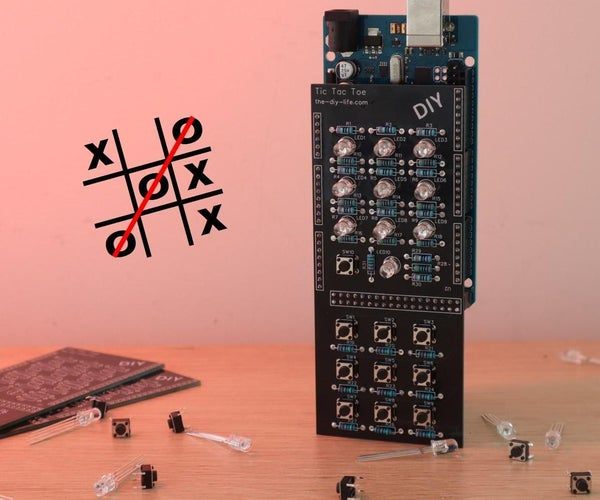 Arduino Tic Tac Toe Shield With an AI Opponent