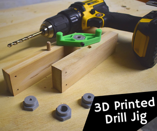 How to Make a 3D Printed Drill Jig for Dowel Joints