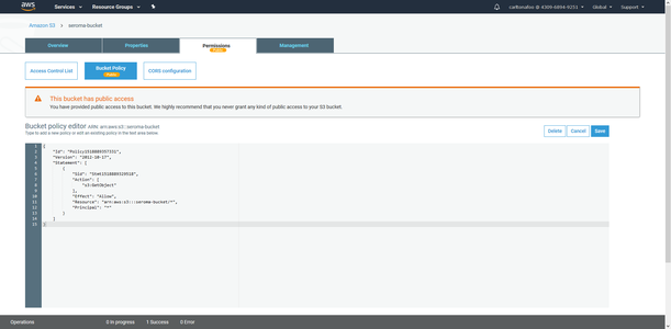 Generate an AWS Policy (Part 2)