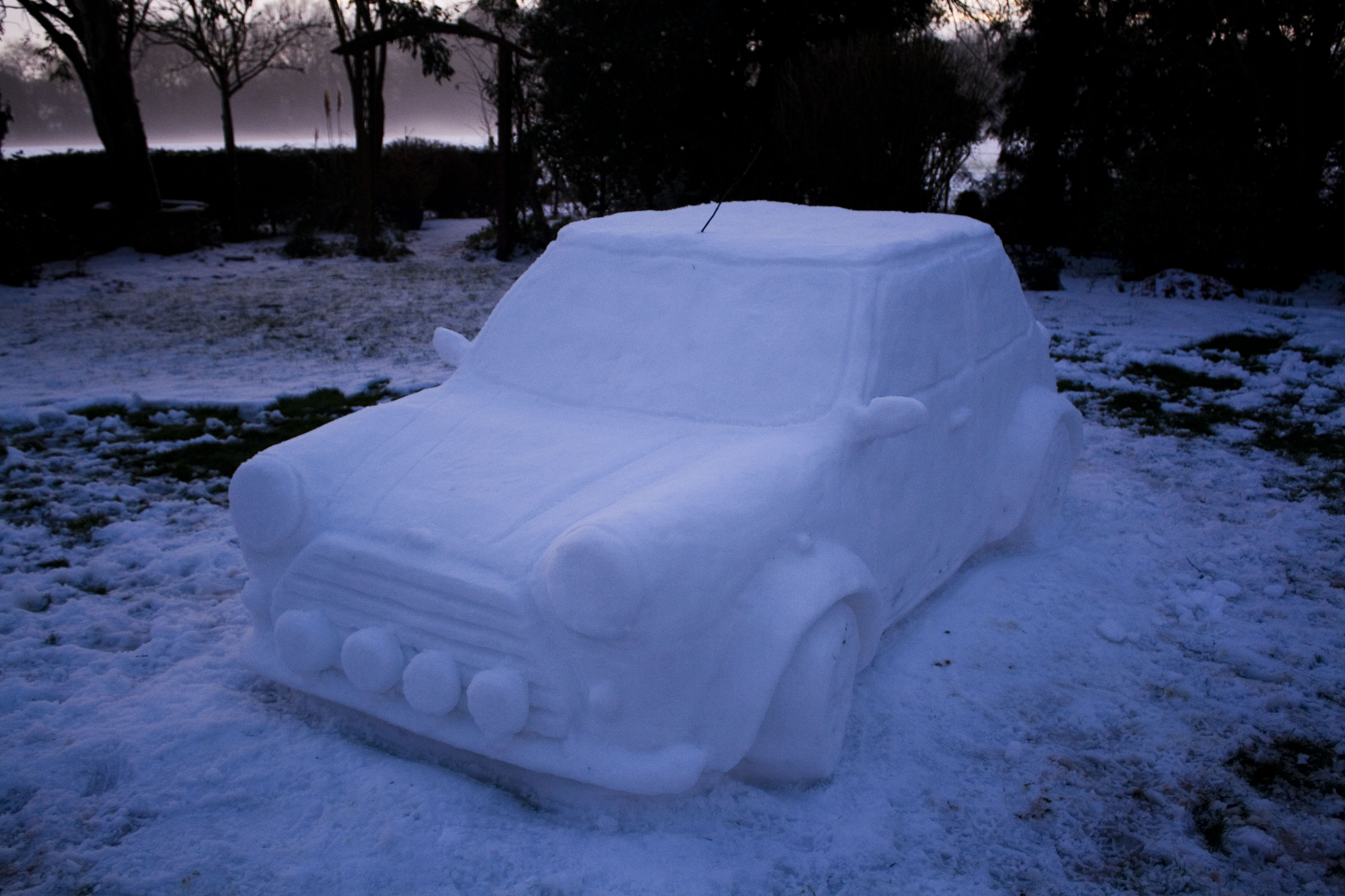 """Mini Cooper """"Snow"""""""