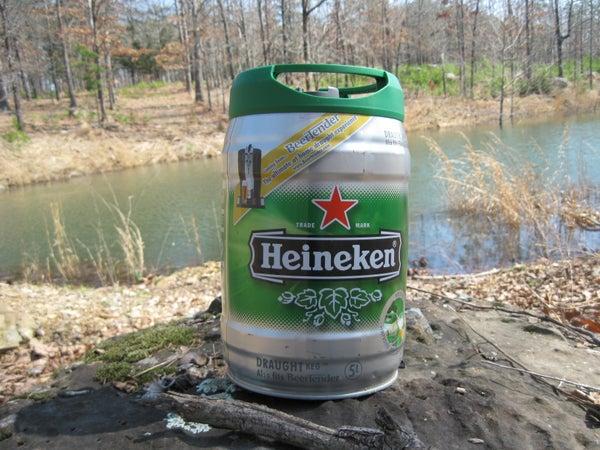 How to Build a Floating Dock Using Heineken Mini Kegs.
