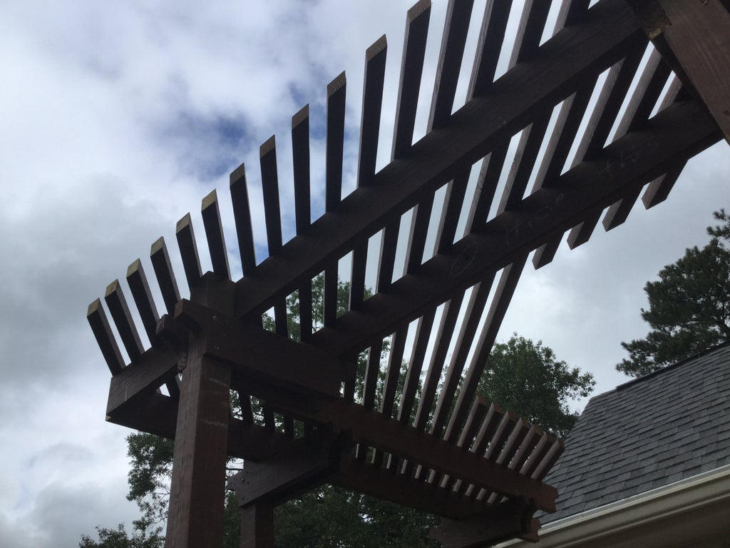 Corner Pergola 5 Steps With Pictures Instructables