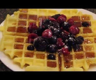 Gluten Free Waffles: Cheap Enough for the Whole Family!