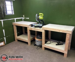 How to Build a Simple and Strong Miter Saw Station
