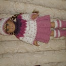 Skating Set of Clothes for the American Girl doll