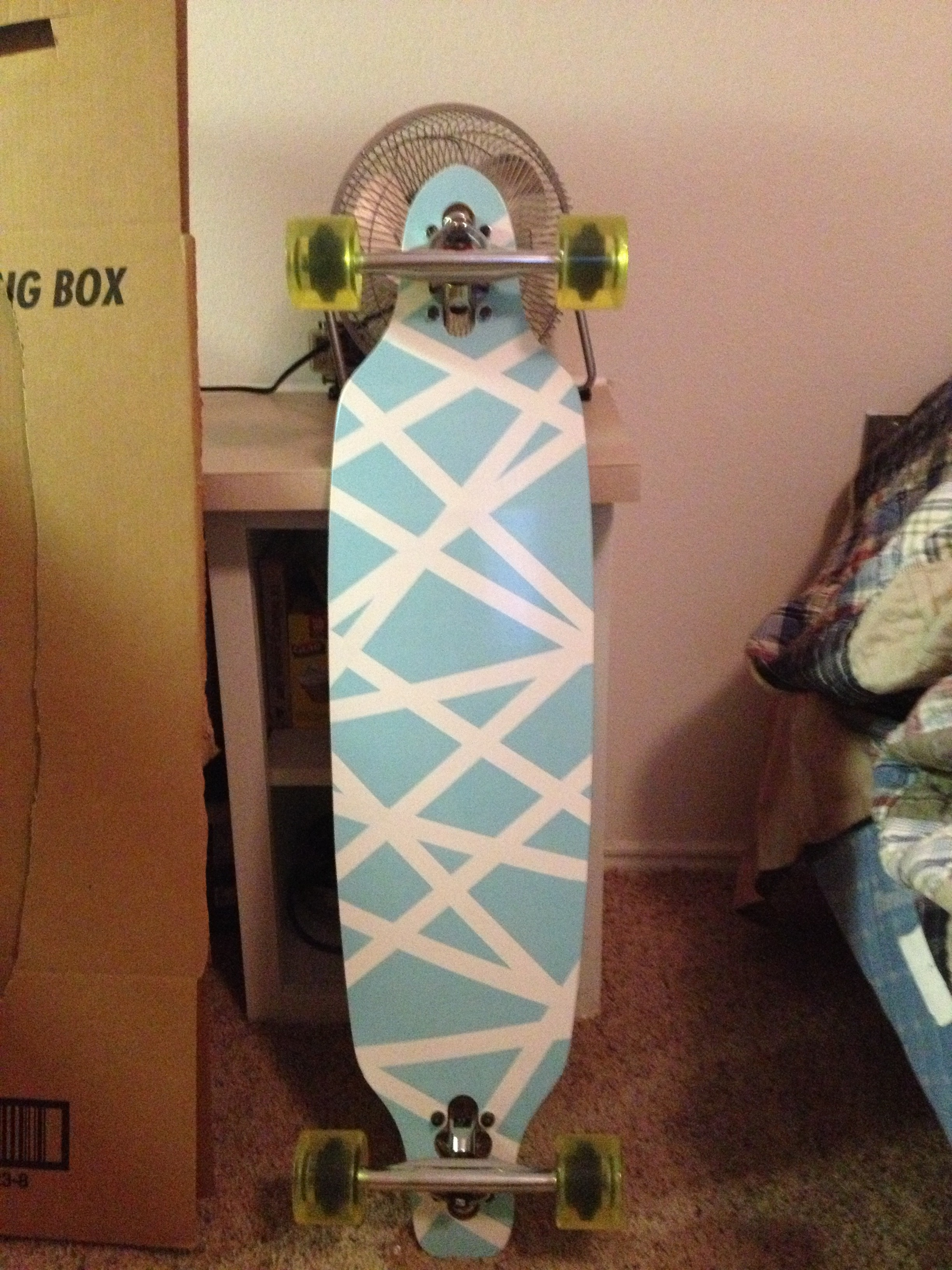 How To Paint Your Longboard/skateboard