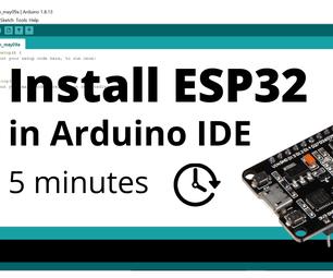 Installing ESP8266 and ESP32 Core in Arduino (Windows,Mac,Linux)
