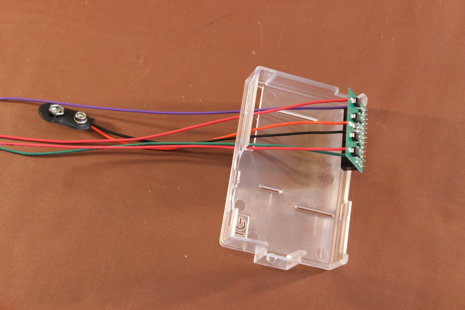 Thread the Wires Through the Case
