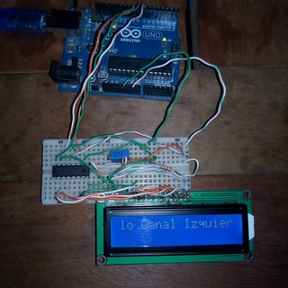 Hookup an LCD to an Arduino in 6 Seconds With 3, Not 6 Pins