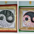 YIN YANG CIRCLE - WALL DECOR