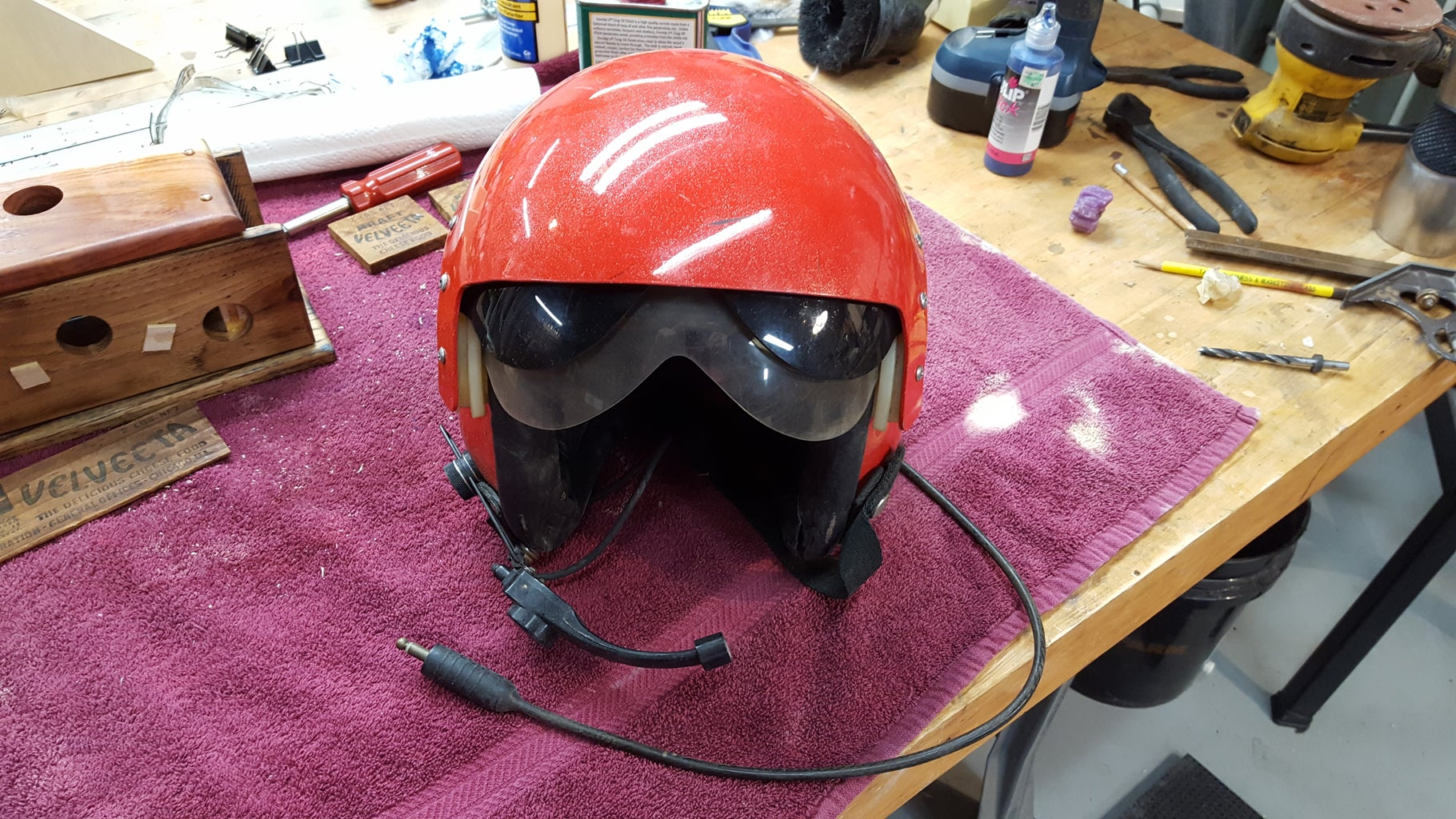 Find and Prep a Real Flight Helmet