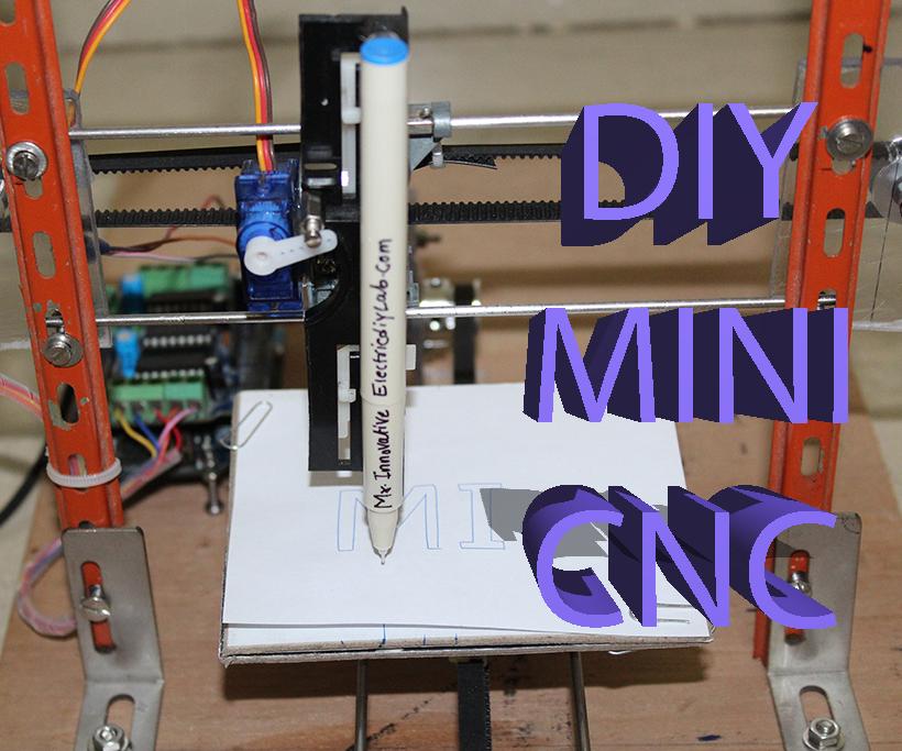 How to Make Mini Home Made CNC Machine Arduino+28BJY-48 Stepper Motor