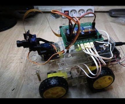 RasbperryPi ZERO W Car With FPV Camera. Control by Web Browser