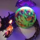 Moon Clock With Dragon