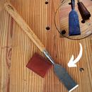 老式凿子修复-使木材光滑