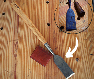 Vintage Chisel Restoration - Making a Timber Slick