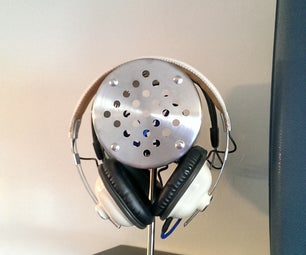 Stainless Steel Headphone Stand