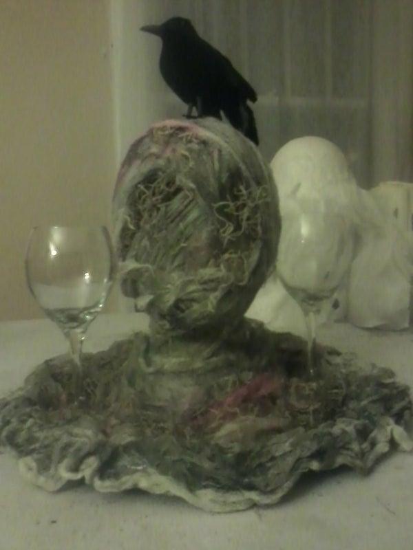 Mummy Head Tray