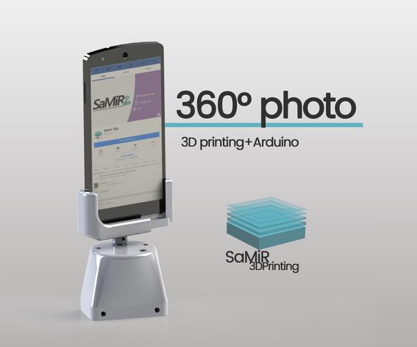 360 Photo Tripod