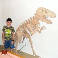 Giant T-Rex Model