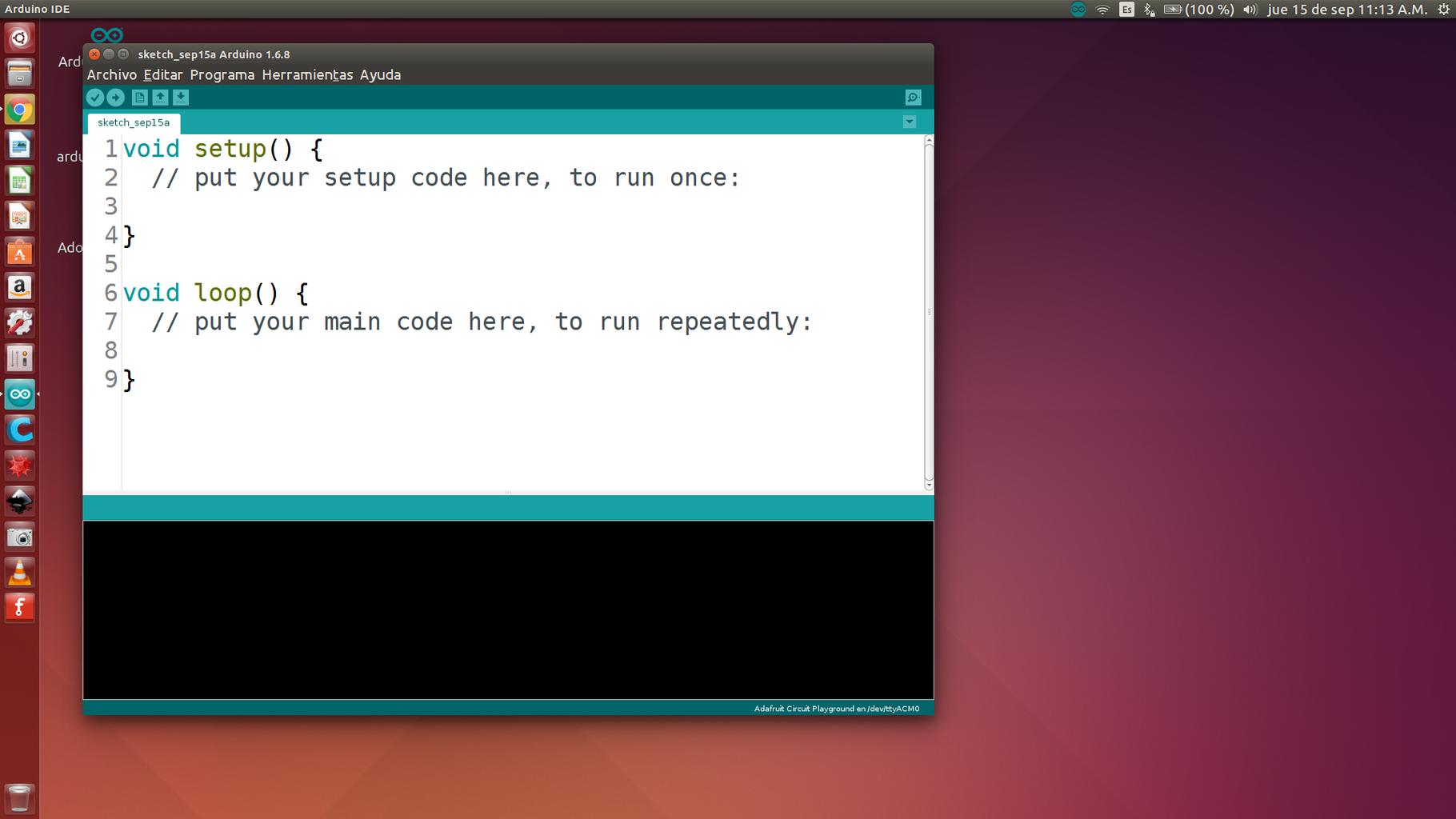 Abrir Arduino IDE
