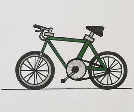 How to Draw a Bike/bicycle