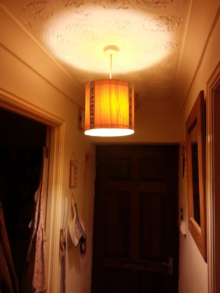 Veneer Lampshade
