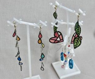 3D Print Earring Display