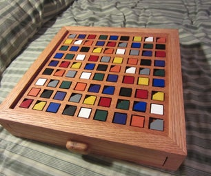 Color-Based Wooden Sudoku Board