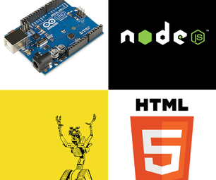 Javascript Robotics and Browser-based Arduino Control