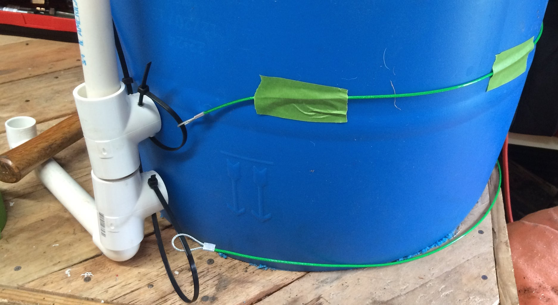 Add the Biogas Inlet to the Collector