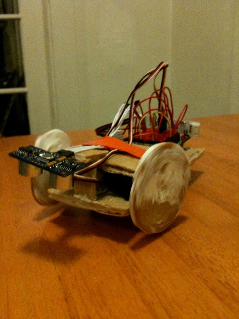 First Ever Real Gingerbread Autonomous Robot  (unverified Claim)