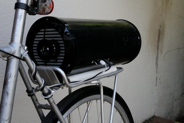 Build a Bike Boom Box