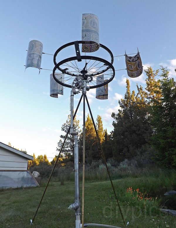 DIY Wind-Powered Water Pump