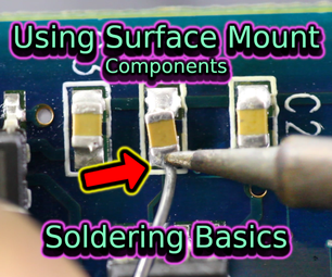 Soldering Surface Mount Components | Soldering Basics