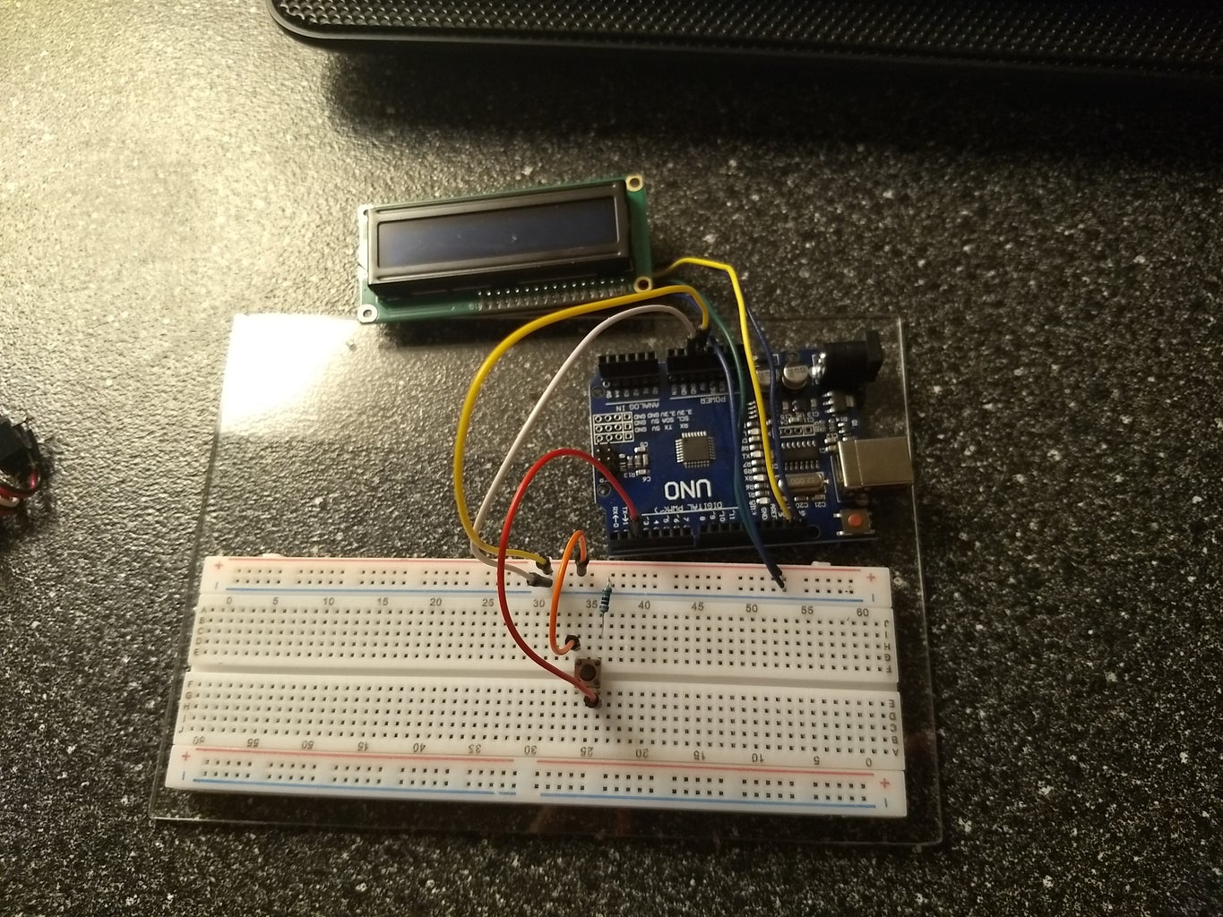 Connect the LCD:
