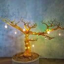 Glowing Wire Tree
