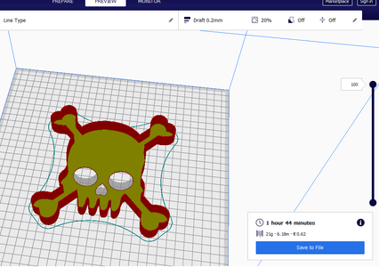 Scale With Cura