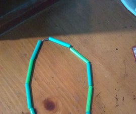 Straw Necklace Compartment
