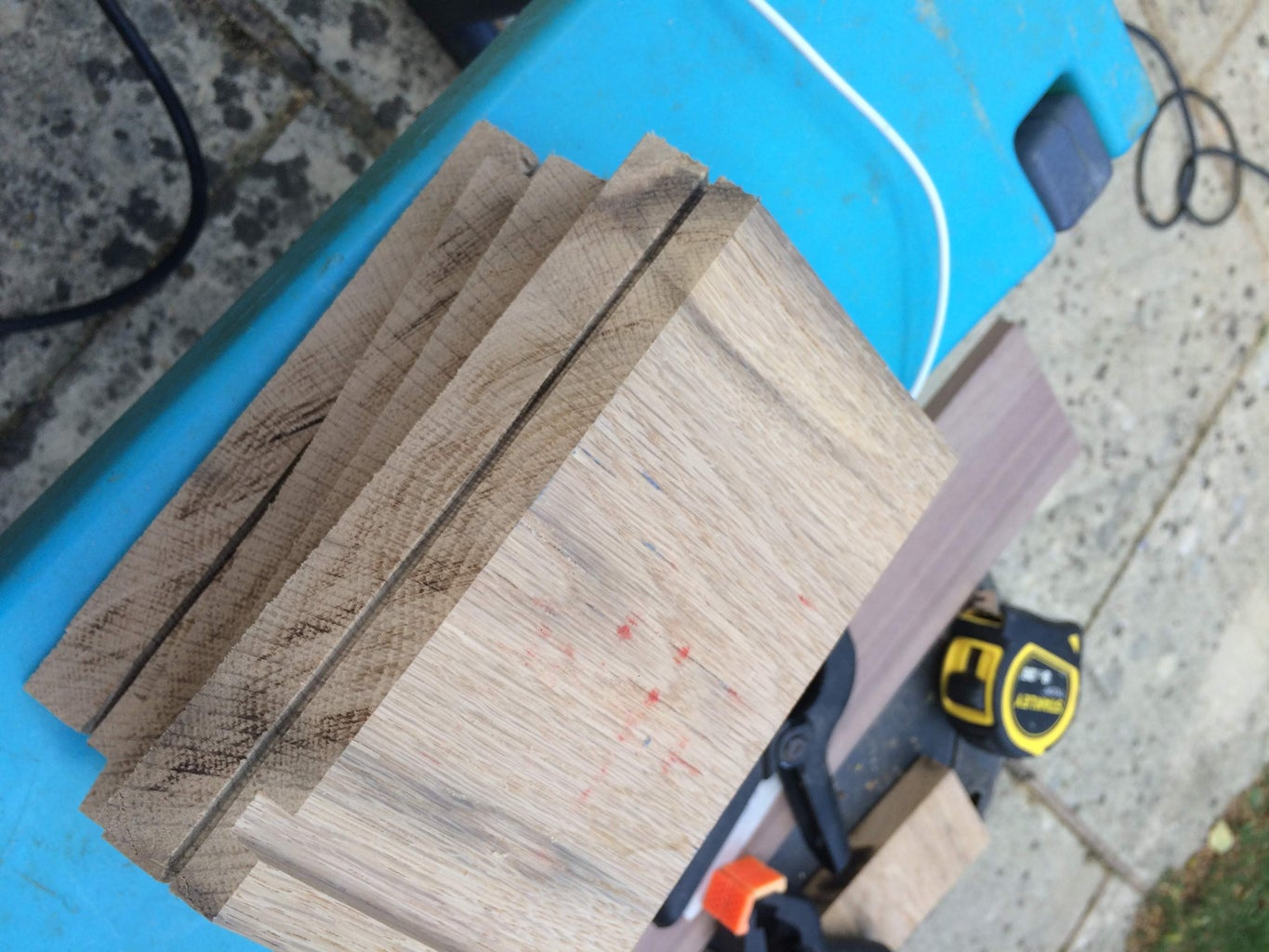 Creating the Oak Stand