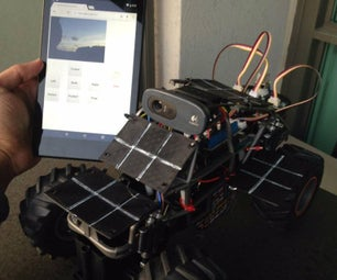Environmental Monitoring Rover - Powered by Intel Edison