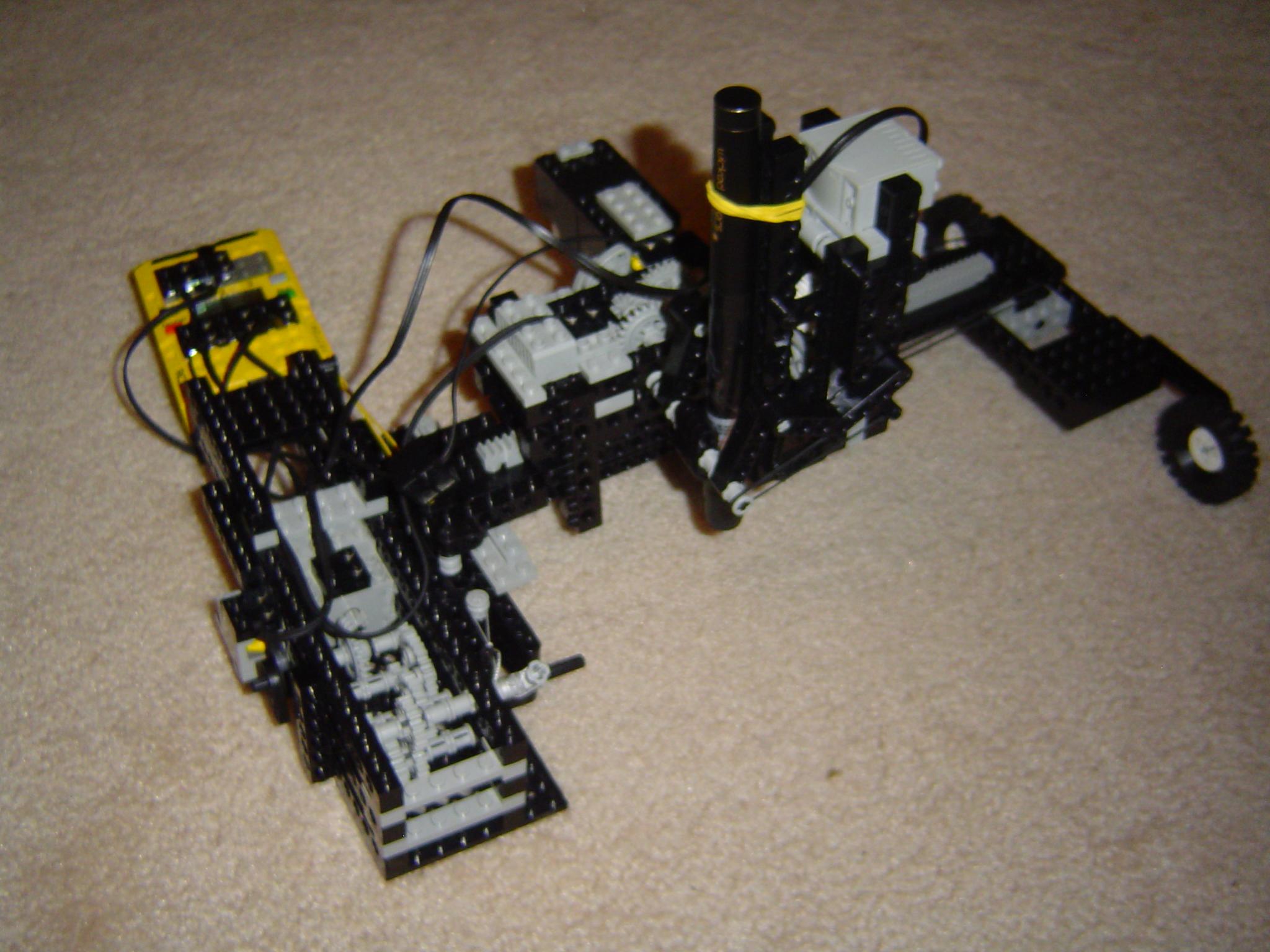 Lego Laser Plotter