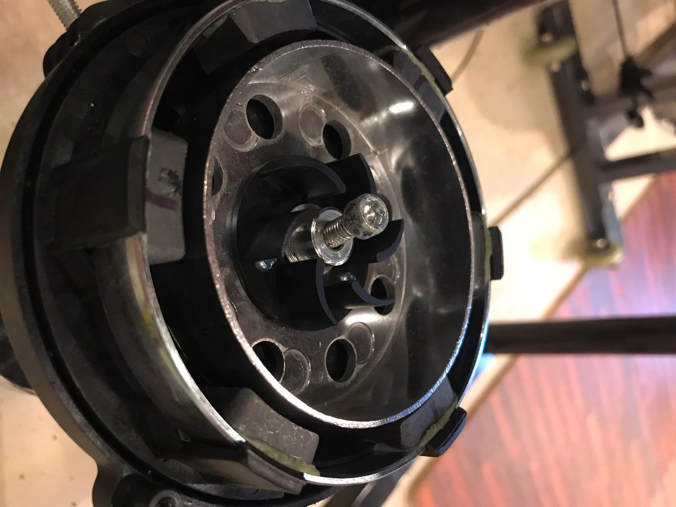 Remove Magnetic Resistance Parts From Trainer