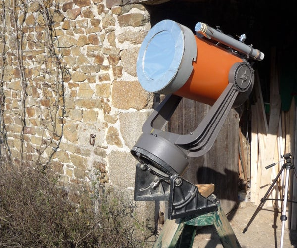 How to  Make a Lockable Solar Filter for a Telescope. Get Ready for the Eclipse 2017