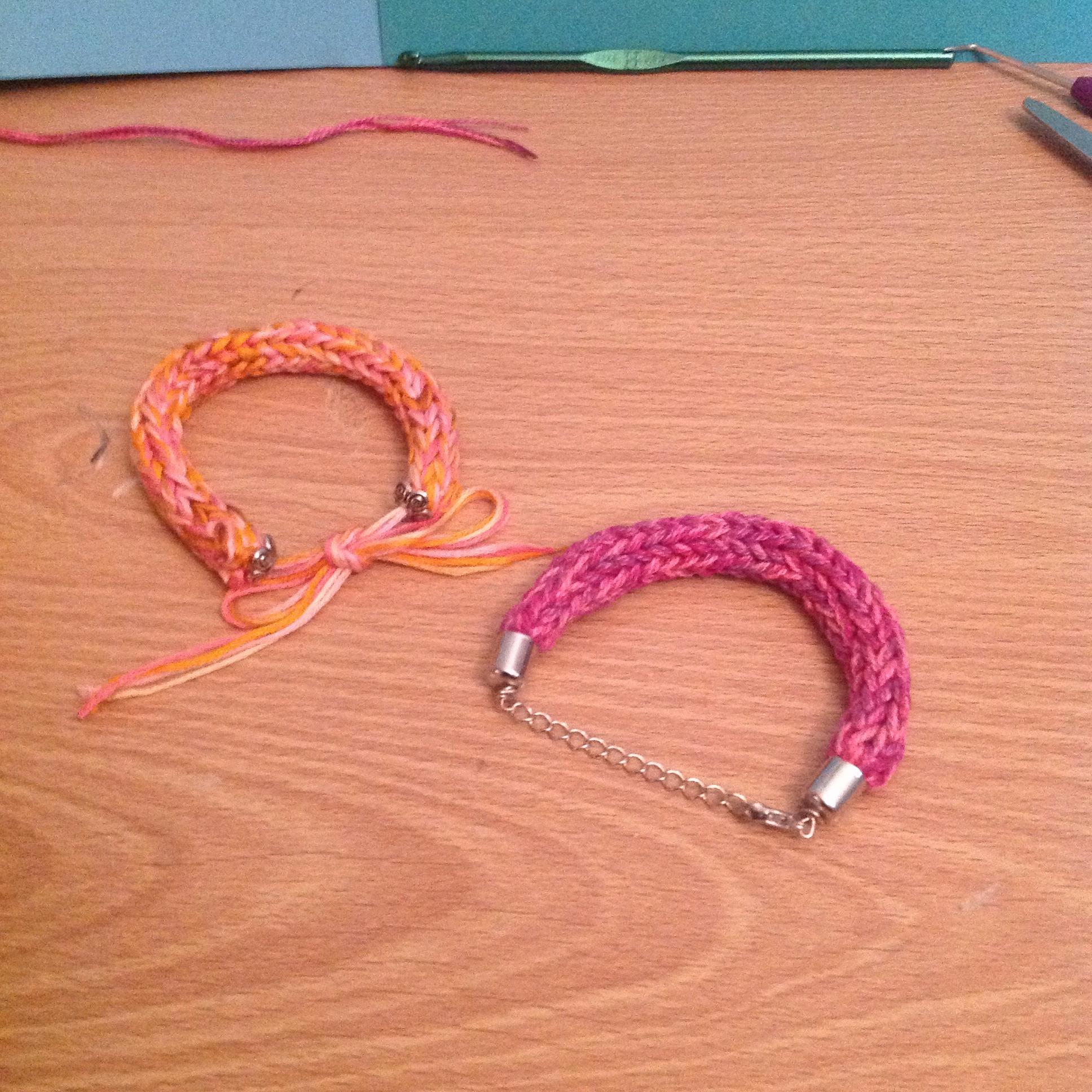Knitting Loom Friendship Bracelet