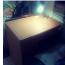 Study Table From Corrugated Sheets