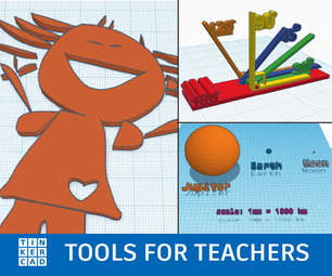 Tinkercad: Tools for Teachers